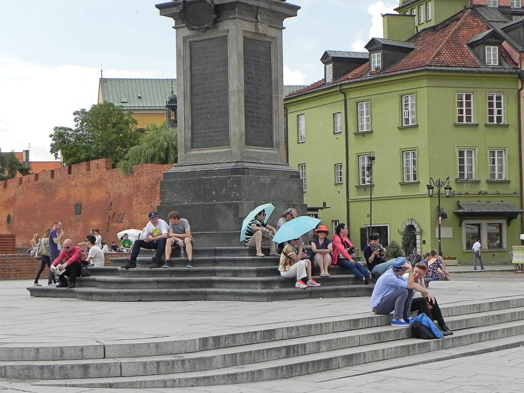 Варшава Замковая площадь