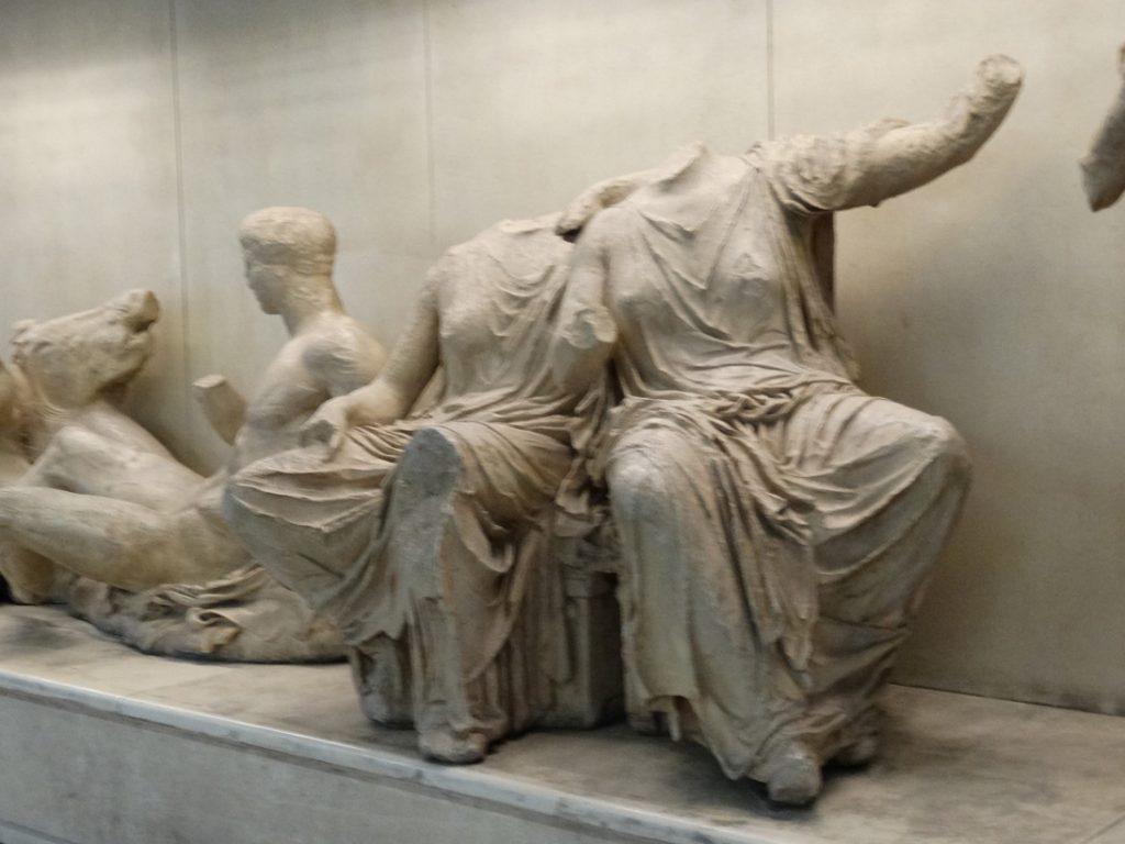 скульптуры с фризов Парфенона