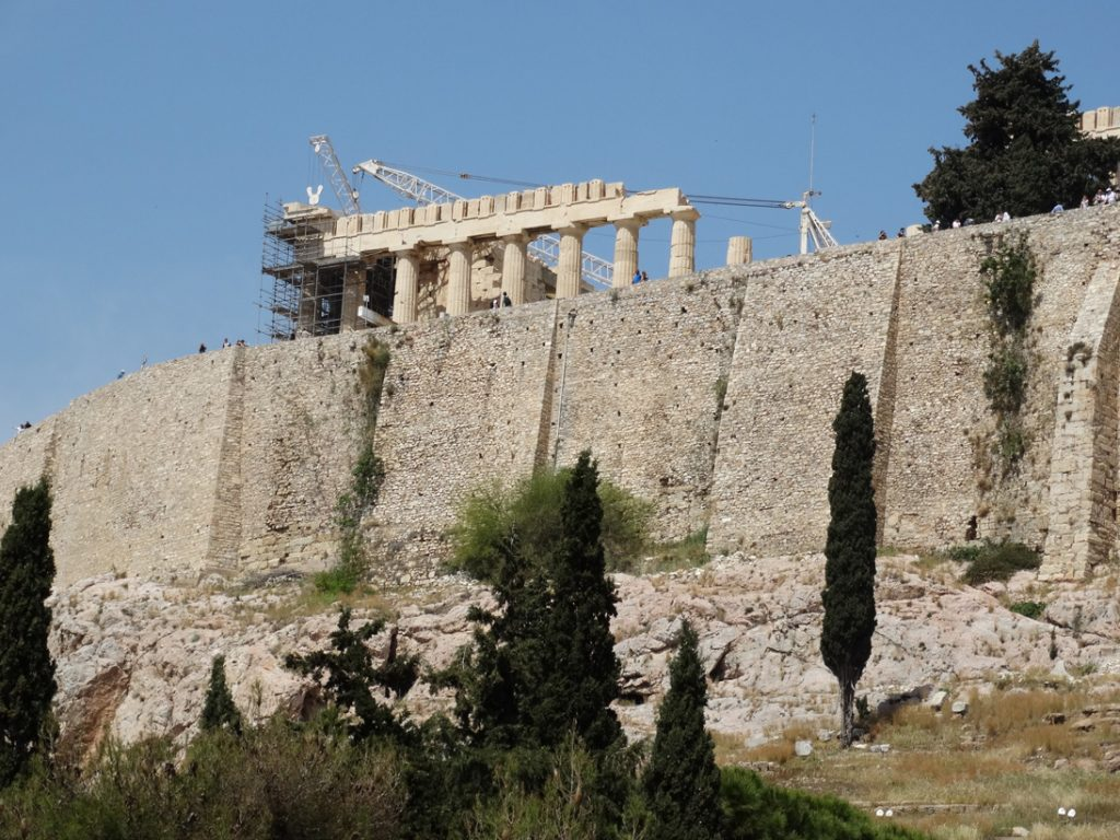Акрополь Стены