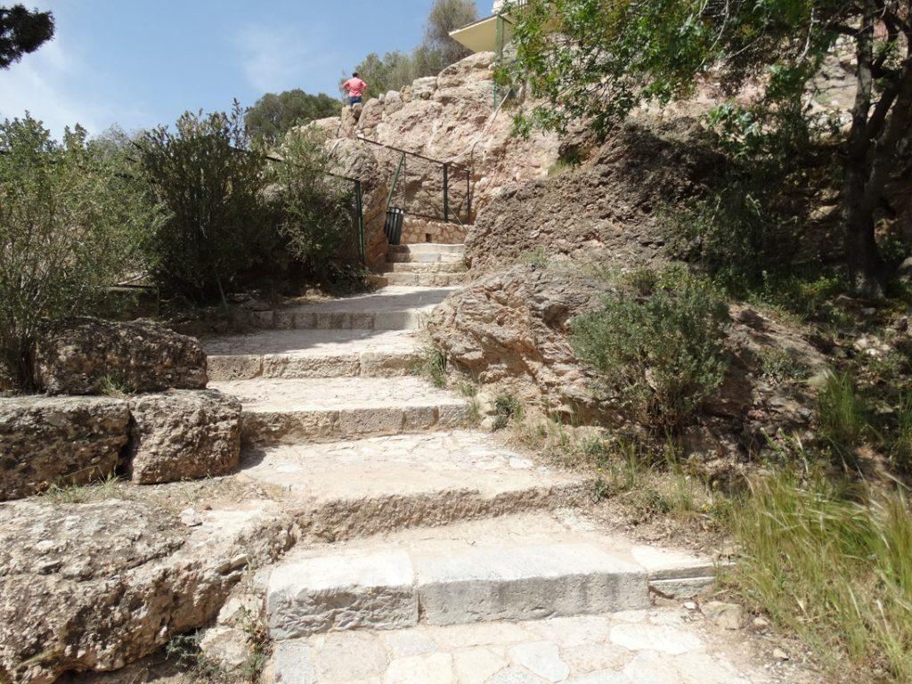 Акрополь Лестница