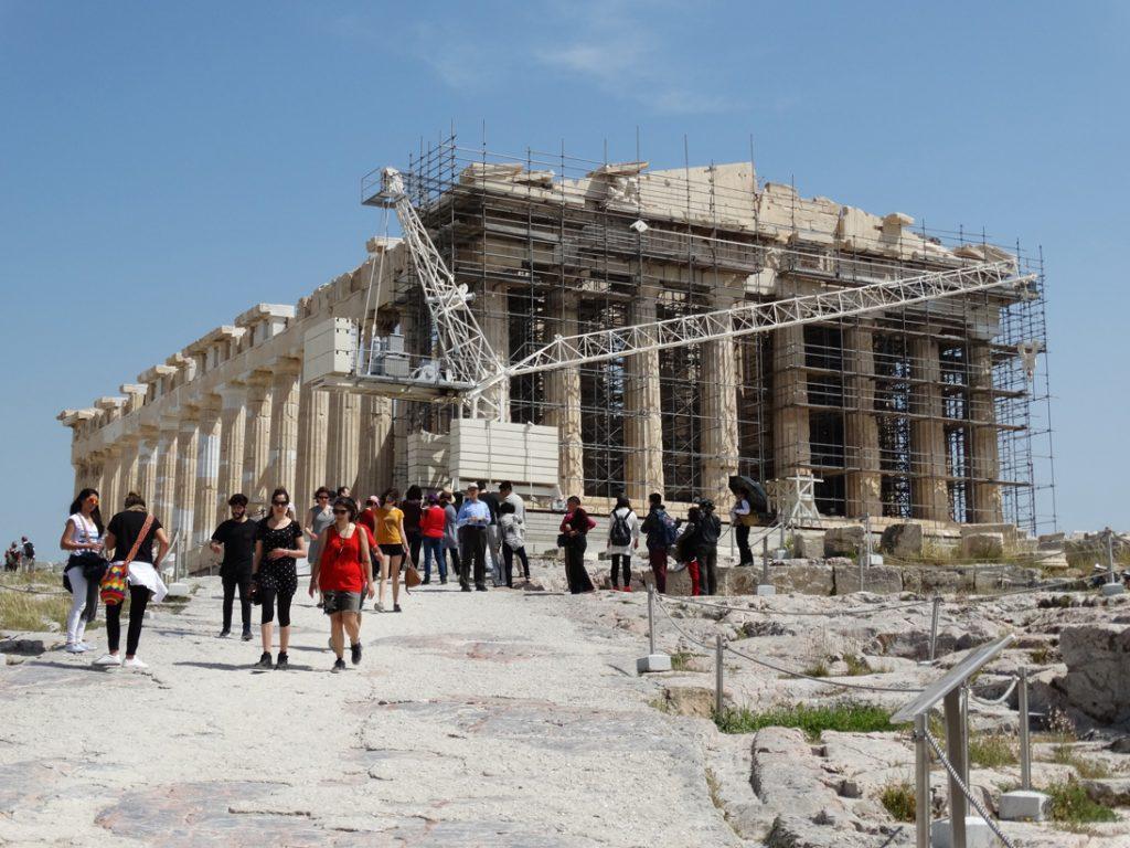 Реставрация Парфенона