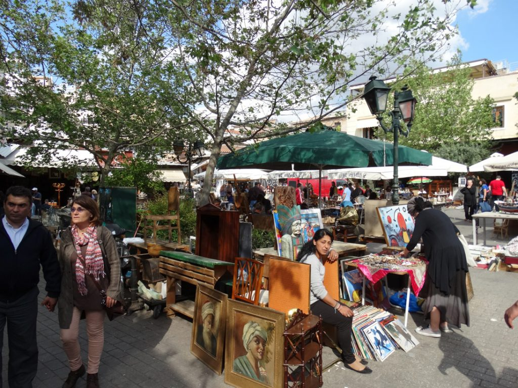 Афины блошиный рынок
