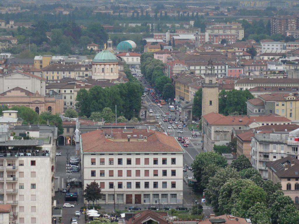 Панорама Бергамо