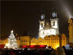 Прага новогодняя / Фотоблокнот