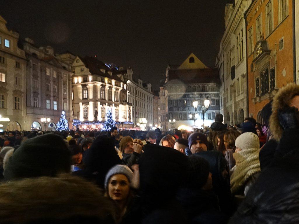 Новогодняя ночь в Праге