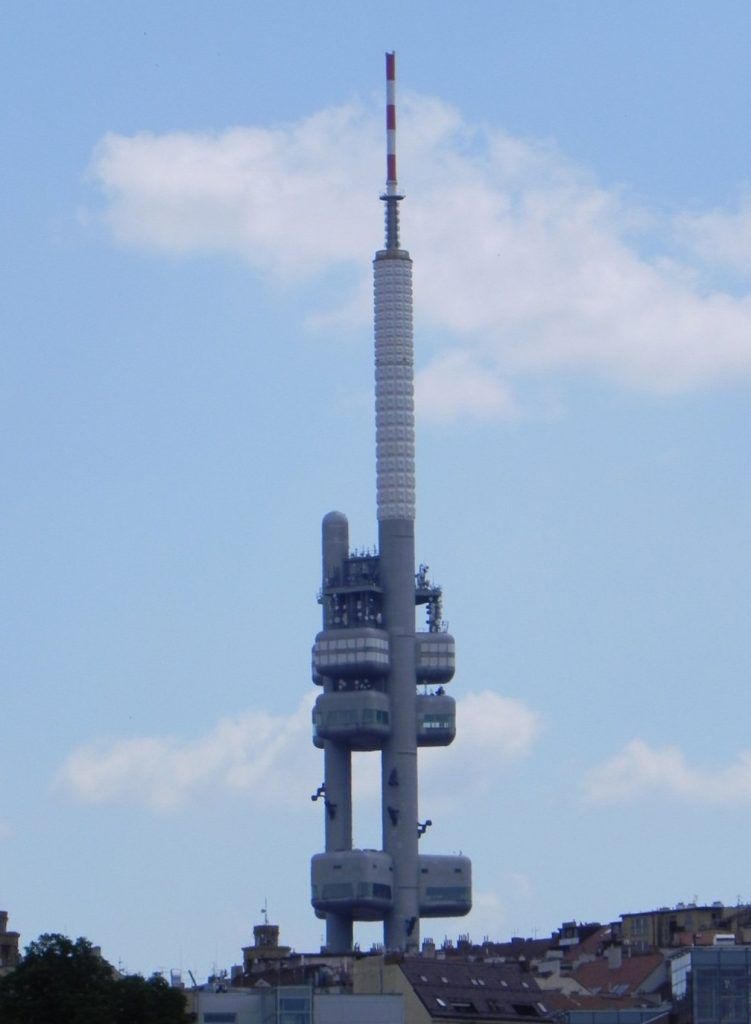 Прага телебашня