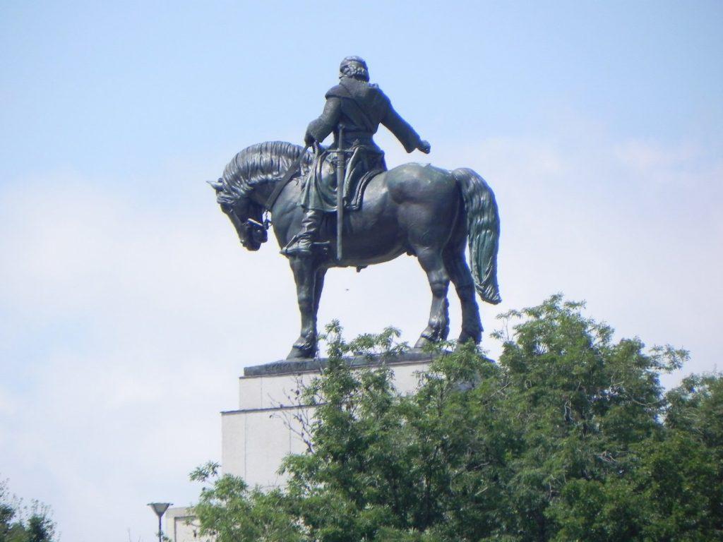 памятник Яну Жижке