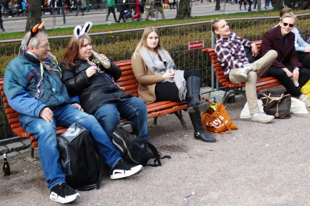 Праздник Ваппу в Хельсинки