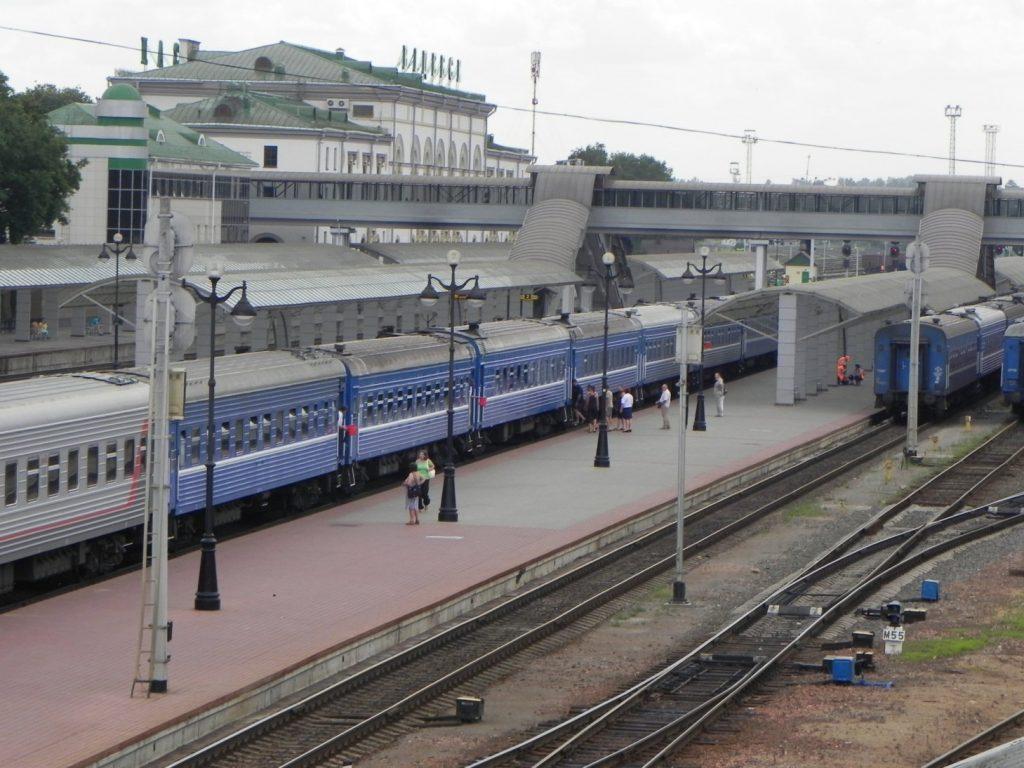 Витебск. Ж/д вокзал