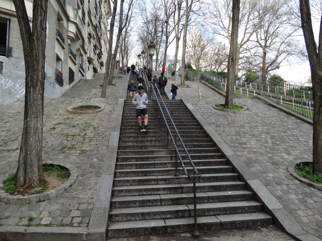 Лестницы Монмартра