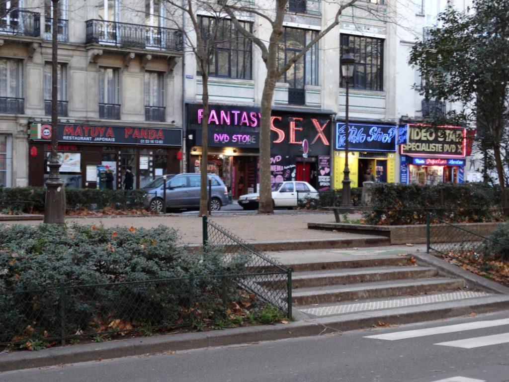 окрестности площади Пигаль