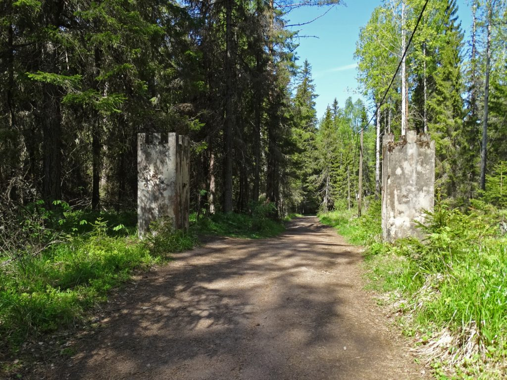 Валаам. Следы финских укреплений