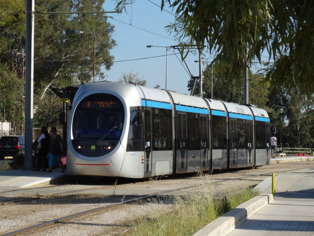 Афины. Трамвай
