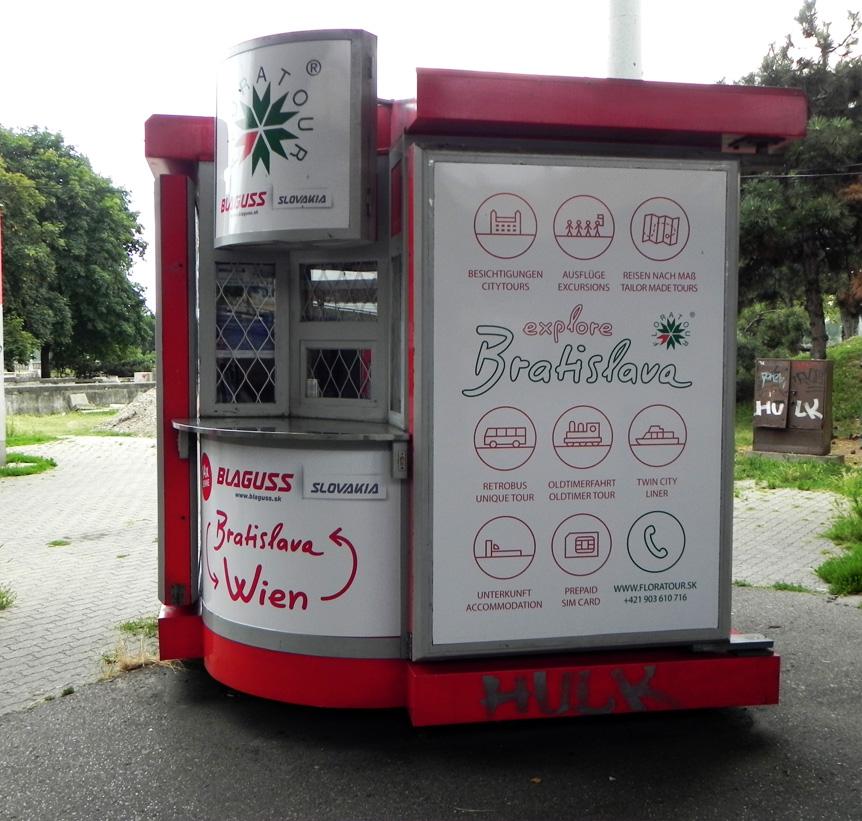 Автобус Братислава - Вена