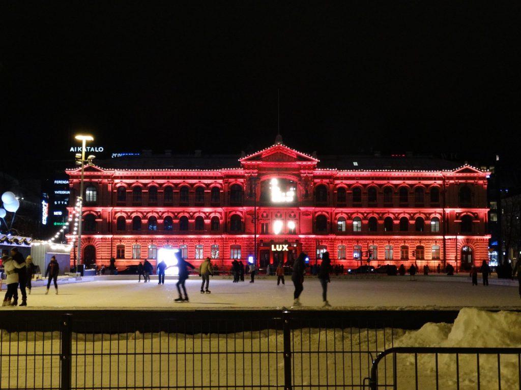 Хельсинки. Каток