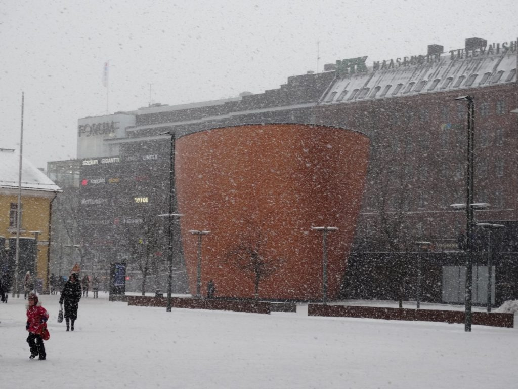 Хельсинки. Церковь Тишины