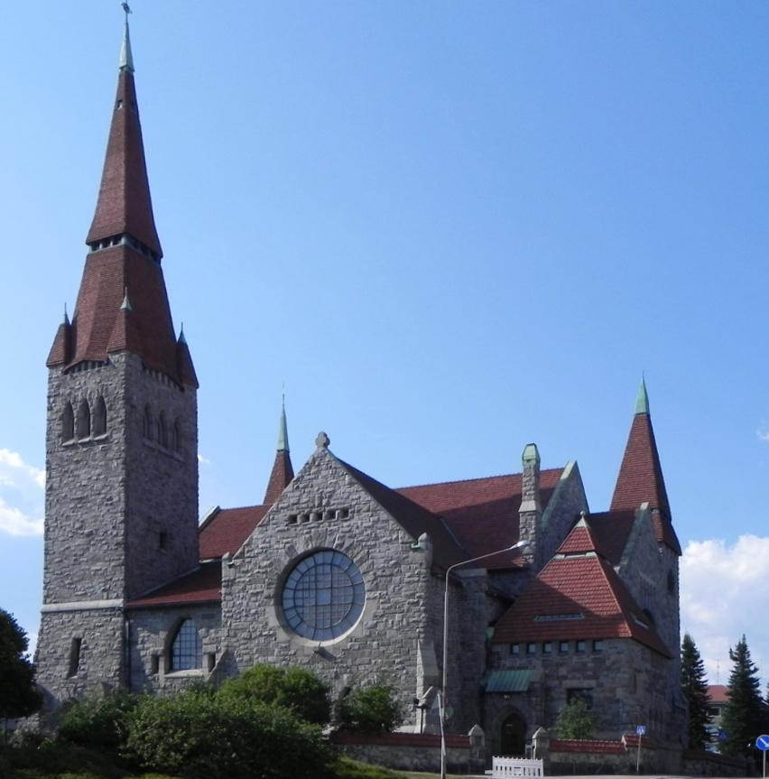 Тампере. Кафедральный собор