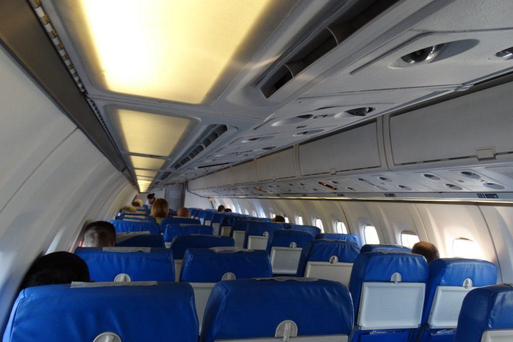 Самолет ATR72 Белград - Тиват