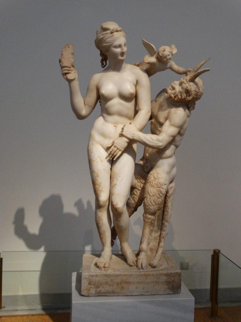 Афродита, Пан и Эрос