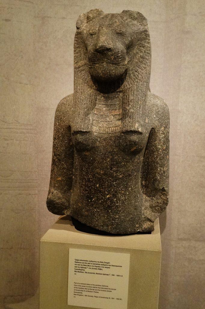 Богиня-львица Сехмет
