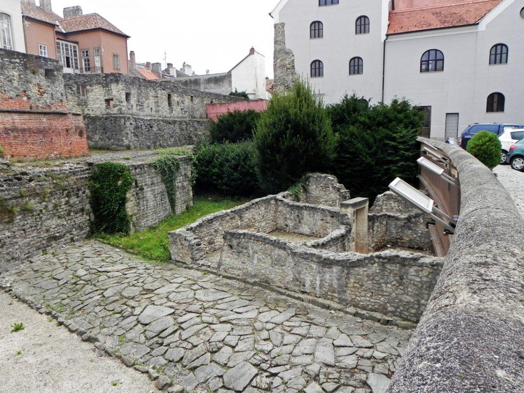 Руины древнеримского форума