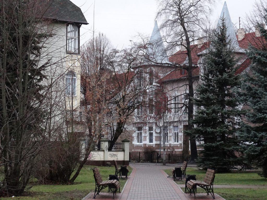 Сквер на пересечении улиц Космонавта Леонова и Чайковского