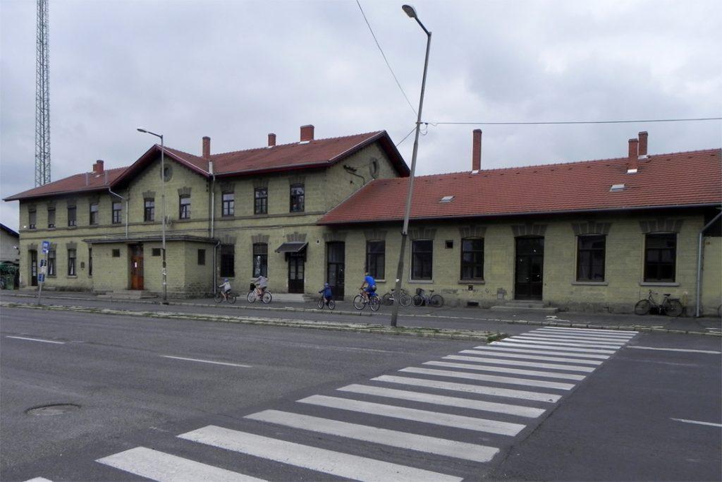 Шарвар. Вокзал