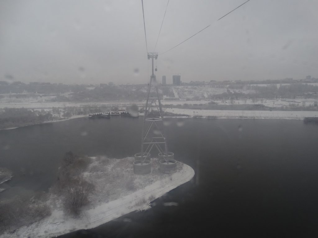 нижегородская канатная дорога