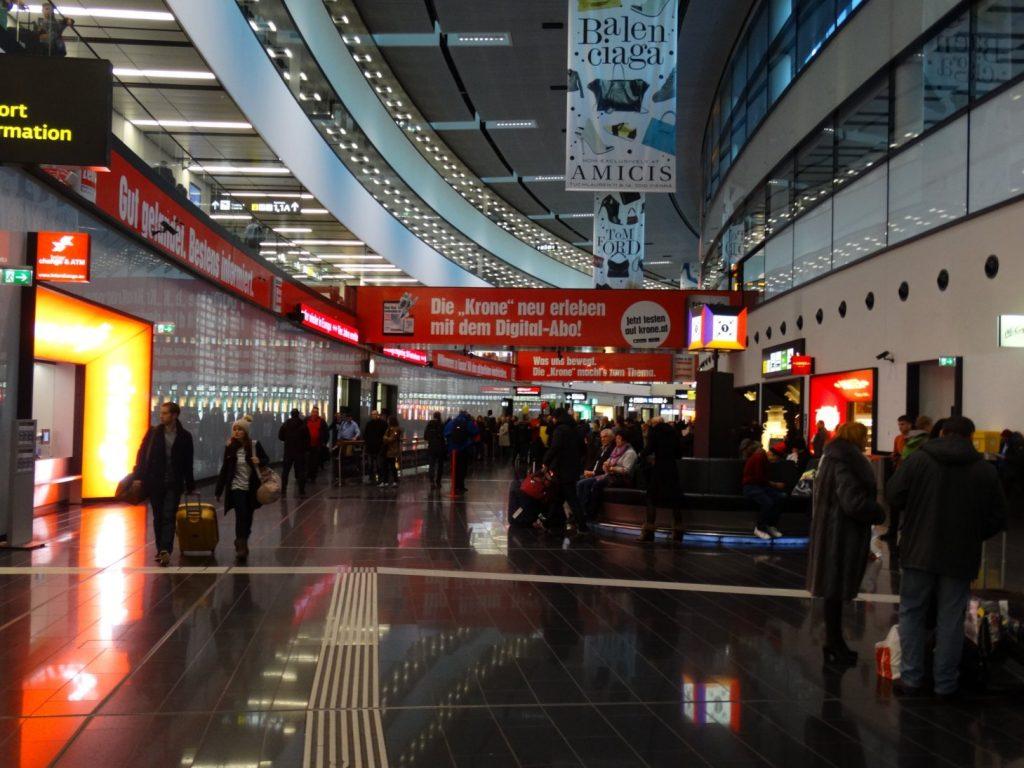 Вена. Аэропорт