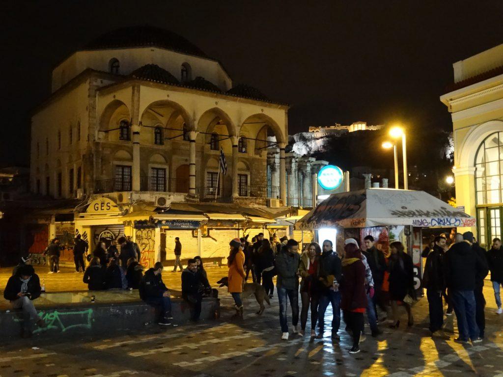 Монастираки в новогоднюю ночь