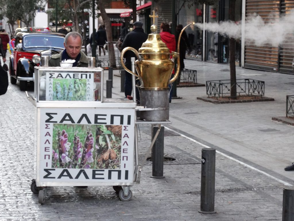 Афины новогодние