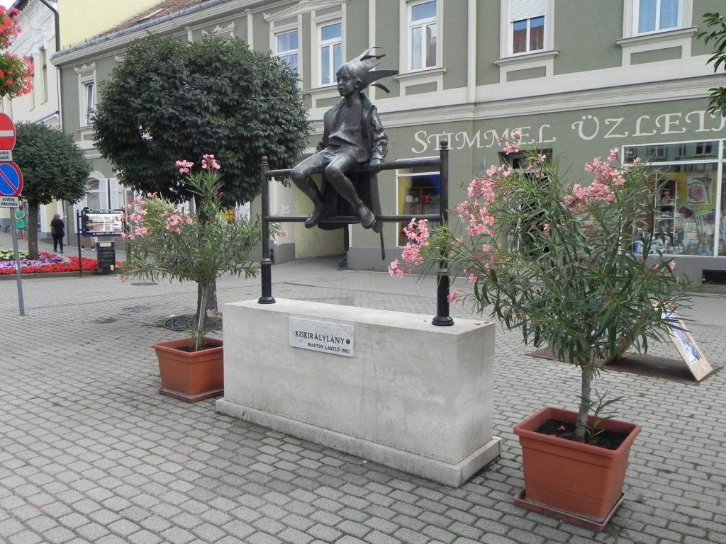 """скульптура ЛаслоМартона """"Маленькая принцесса"""""""