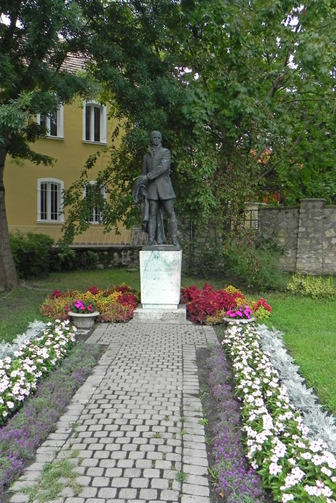 Памятник Яношу Бачаньи