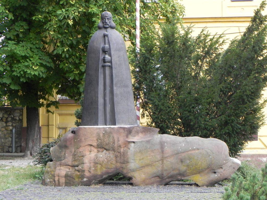 Памятник королю Иштвану Святому
