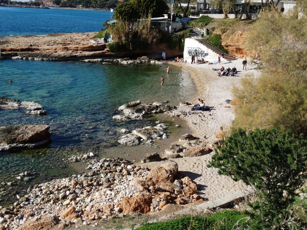 Афинская ривьера. Дикий пляж