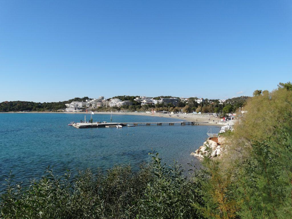 Афинская ривьера. Пляж