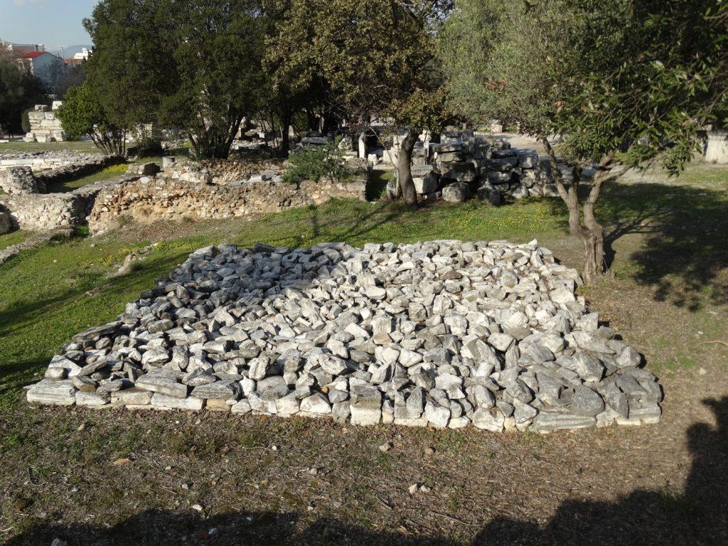 Камни Агоры