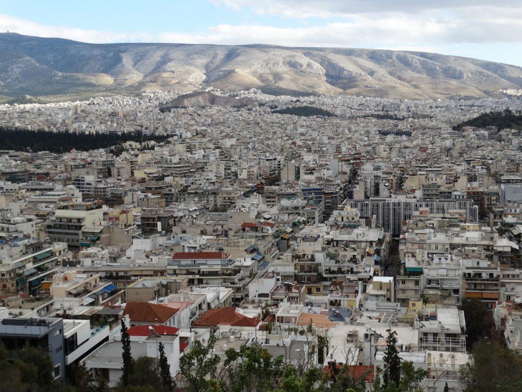 Филопаппу. Вид на Афины