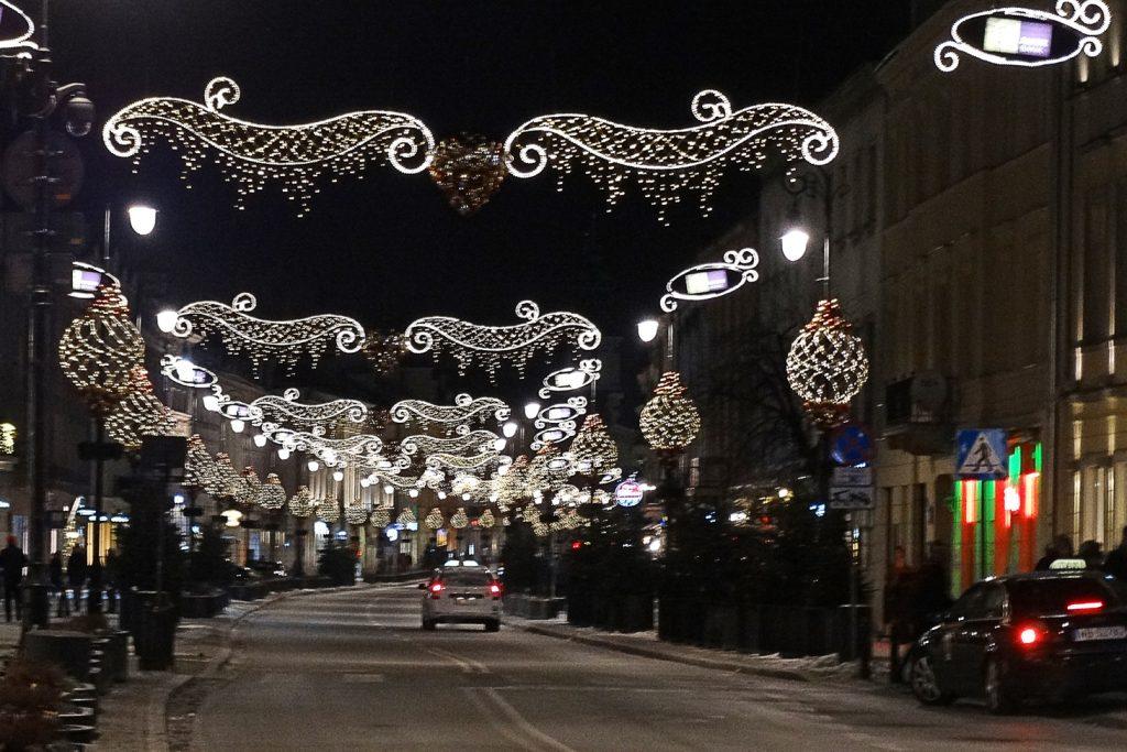 Варшава новогодняя
