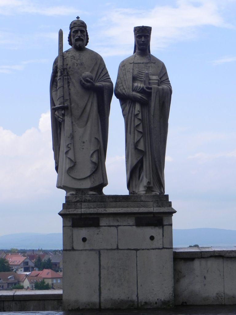 Святой Иштван и Гизела Баварская